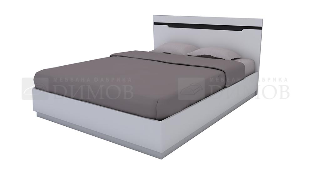 Легло с табла ЛПДЧ АЛЯСКА за матрак 1600/2000 мм - Модул 5