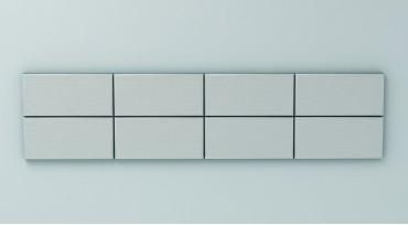 М15 - дълга тапицирана табла с тапицерия №5