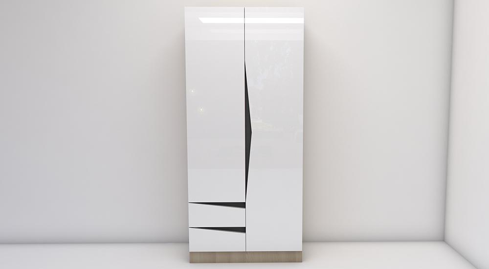 М3 - двукрил гардероб