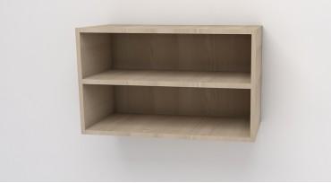 М6 - шкаф за стена открит с рафт