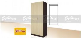 PRIMO 7 - Двукрилен гардероб