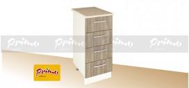 МОДУЛ PD 6 - Долен шкаф с четири чекмеджета  *(цената е за ширина 300мм)