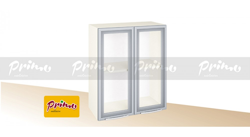МОДУЛ PG 4 - Горен шкаф с две витрини